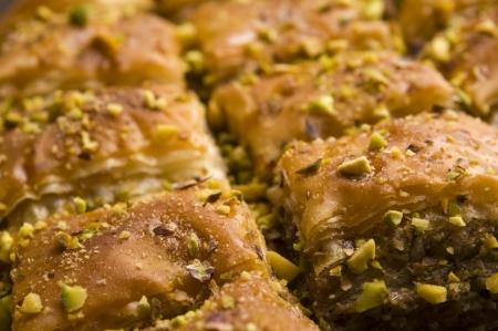 baklawa: Baklava - traditional middle east sweet desert