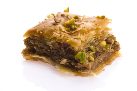 Baklava - traditional middle east sweet desert Stock Photo - 14641124