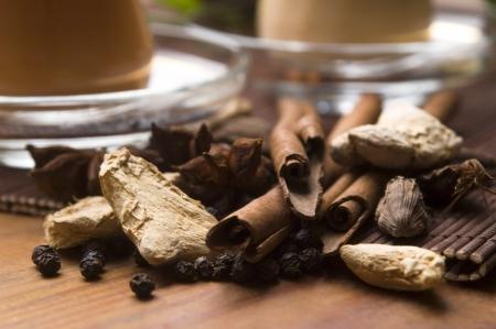 assam tea: Masala chai