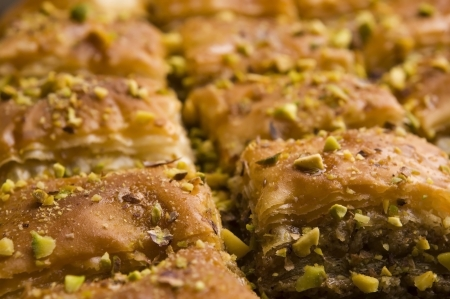Baklava - traditionelle middle east sweet desert