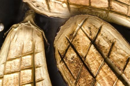 Baked hot eggplant Stock Photo - 16901723