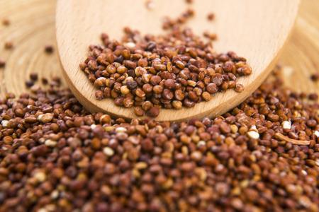 red quinoa: Red Quinoa grain Stock Photo