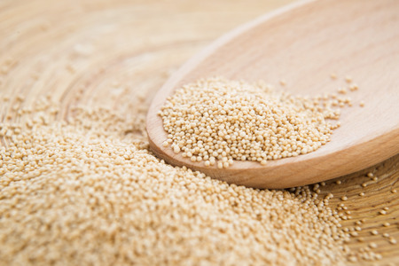 Healthy amaranth grain Stock Photo