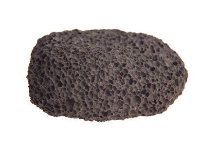 Pumice stone isolated on white