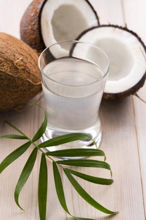 ココナッツ、ココナッツの水
