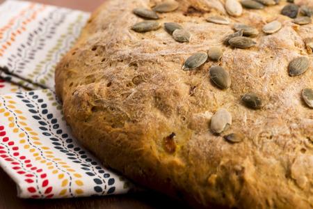 homemade pumpkin bread photo