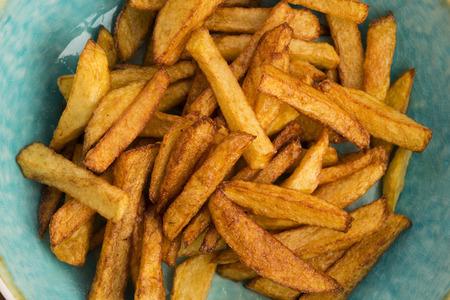frites: Potatoes fries Stock Photo