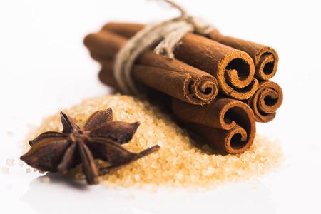 cinnamon sticks: Cinnamon sticks with pure cane brown sugar