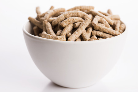 dietary fiber: dietary fiber in bowl Stock Photo