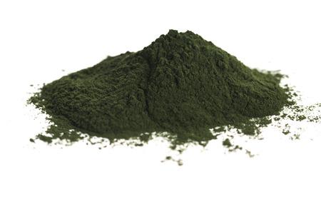 緑色のクロレラ