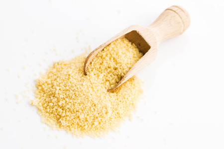 Couscous heap Stock Photo
