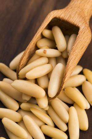 pine kernels: Dry Organic Pine Nuts