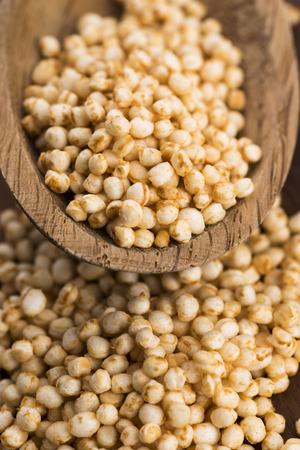 popping: quinoa popping