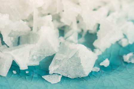 sel: Pyramid salt fleur de sel