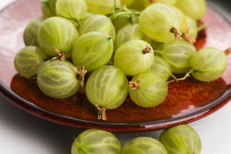 gooseberries: green gooseberries