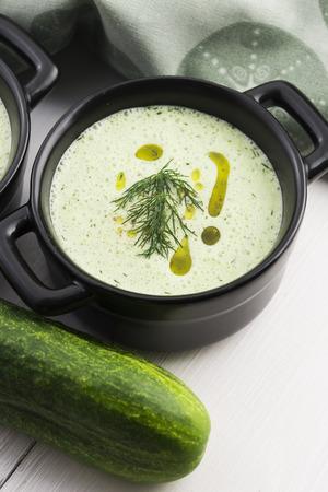 sour milk: Tarator, bulgarian sour milk soup