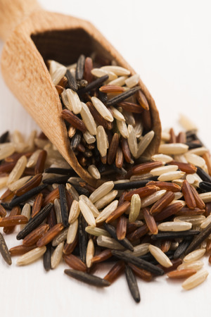 processed grains: mixed rice
