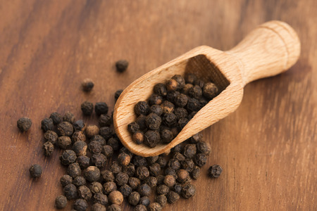black peppercorn: Black peppercorn Stock Photo
