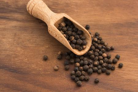 peppercorn: Black peppercorn Stock Photo