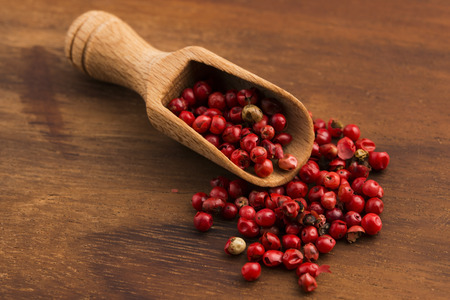 smack: pink peppercorns