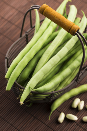 ''close up'': Green beans close up Stock Photo