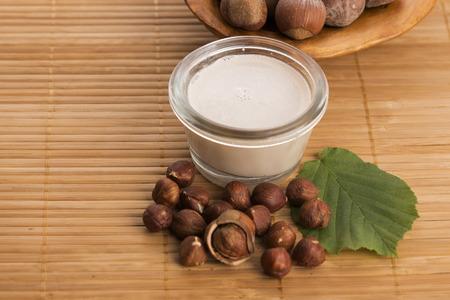 health drink: hazelnut milk