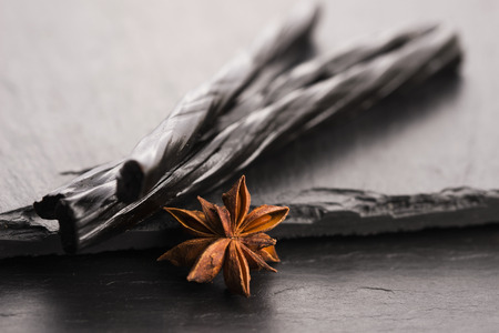 licorice: Licorice candy with star anise