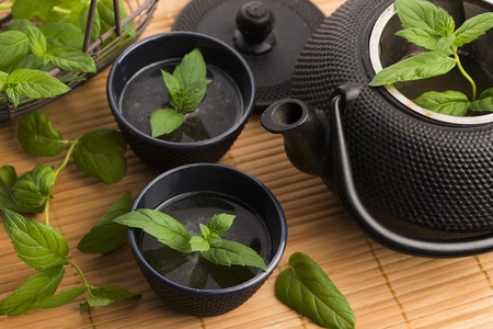 cup of tea: Mint tea