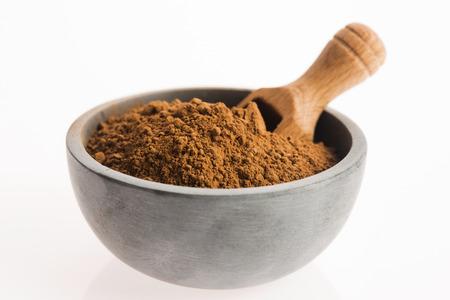 carob: carob powder
