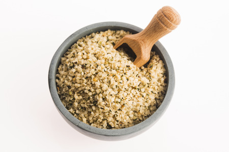 plant seed: Shelled hemp seeds