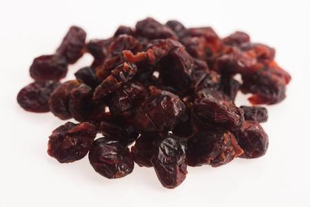 arandanos rojos: arándanos secos  Foto de archivo