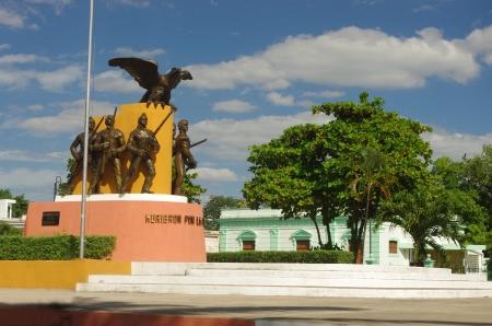 the zocalo, main square in Merida, Yucatan, Mexico