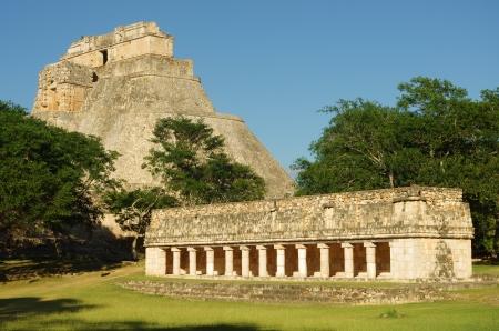 Uxmal Mayan city, 유카탄, 멕시코