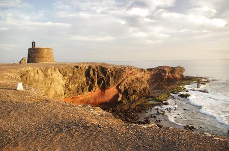 Castillo de las Coloradas, Playa Blanca, Lanzarote, Canary Islands