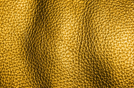 natural golden dyed leather furniture coverage texture background Stock Photo - 26542519
