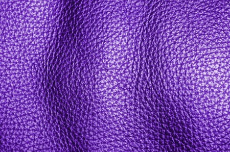 natural purple dyed leather furniture coverage texture background Stock Photo