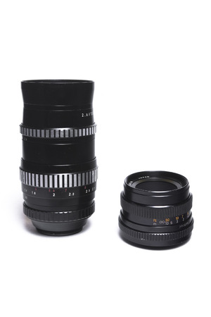 Two m42 lenses