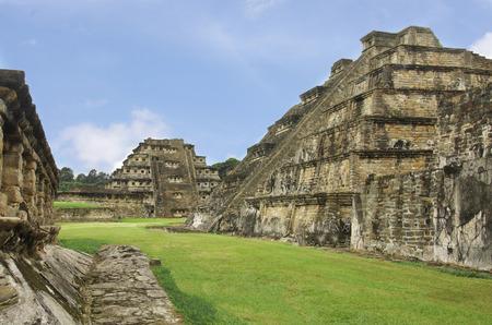 Pyramids of El Tajin archeological zone, Veracruz, Mexico