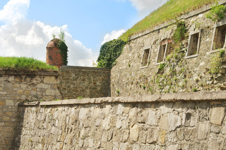 Inside the Twierdza Klodzko citadel, Lower Silesia, Poland Editorial