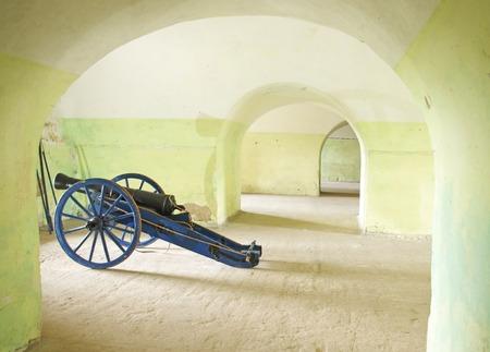 cannon in the Twierdza Klodzko citadel Editorial
