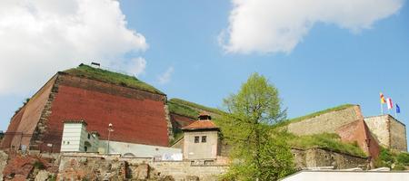 Panoramic view of the Twierdza Klodzko citadel, Lower Silesia, Poland  Editorial
