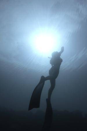 Bikini freediver Stock Photo - 8889931