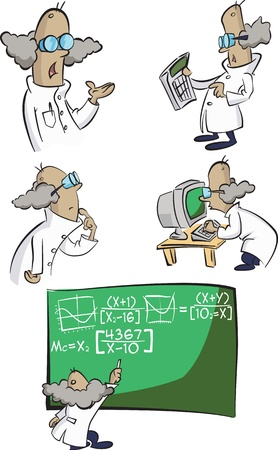 A group of mad scientists try to calculte every thing!