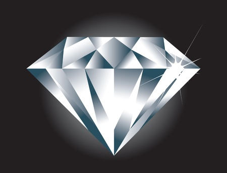 A simple easy to edit Diamond. Diamond sparkle and BG on seperate layers.