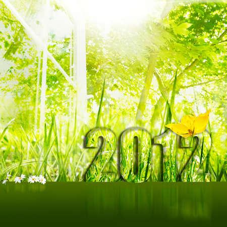 unspoiled: Entorno limpio vibrante para a�o nuevo en 2012