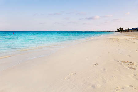 mile: Seven Mile Beach, Grand Cayman Stock Photo