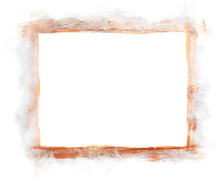 Acrylic copper & silver painted frame Stock Photo - 9821280