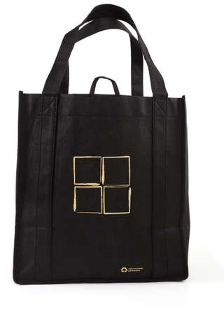 reusable: Reusable shopping bag, isolated