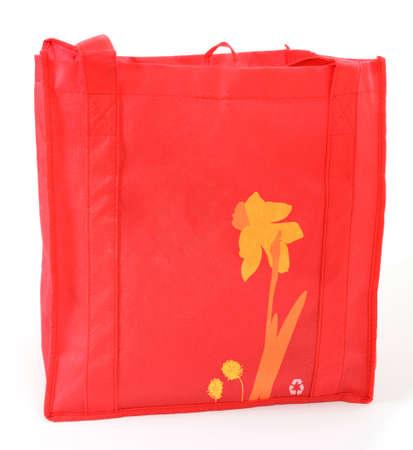 reusable: Shopping bag riutilizzabile, isolato Archivio Fotografico