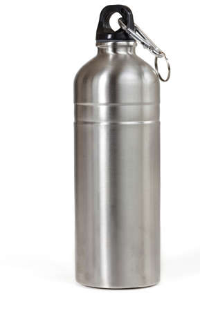 reusable: Reusable water bottle, isolated
